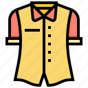 clothing, hawaii, shirt, uniform icon