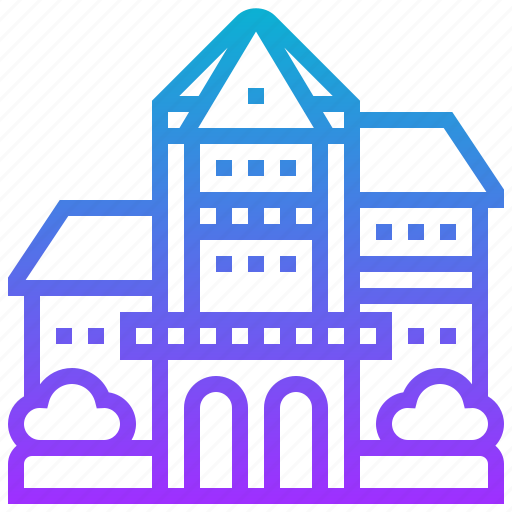bishop, building, hawaii, landmark, museum icon