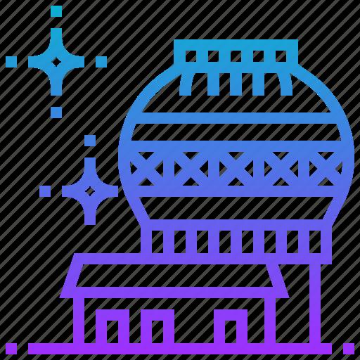 building, hawaii, kea, landmark, mauna, observatories icon