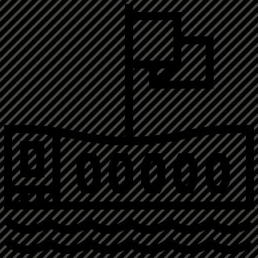 arizona, building, hawaii, memorial, uss icon