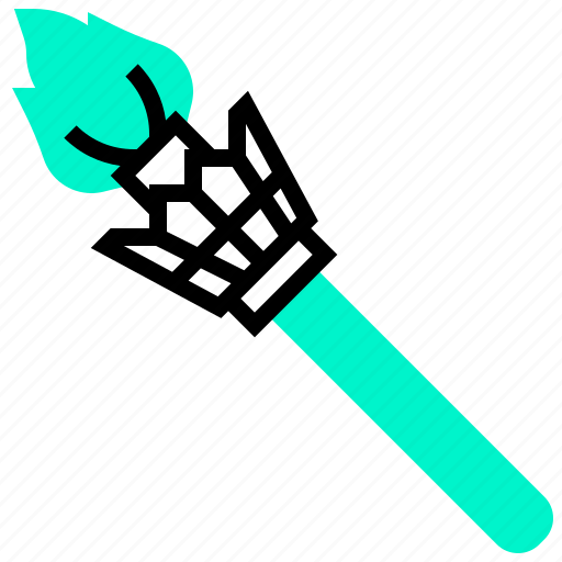 fire, hawaii, light, torch icon