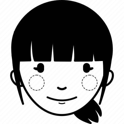 account, avatar, girl, interface, profile, user, woman icon