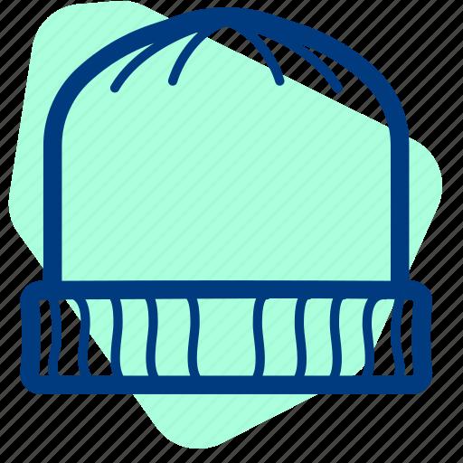 Beanie, beannie, cap, hat, headwear, snow, wool icon - Download on Iconfinder