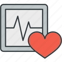 ecg, heart, pulse, rate icon