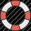 emergency, help, lifebuoy icon