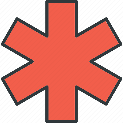 care, emergency, heart, medical icon