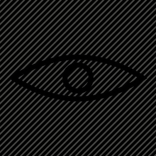 checkup, eye, look, search, view, views, vision icon