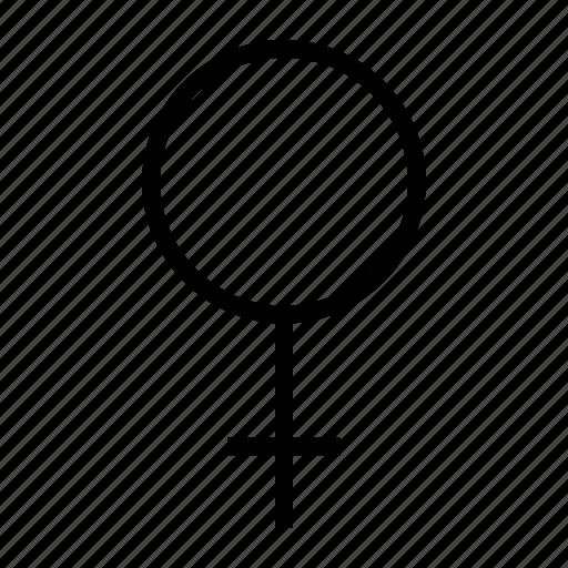 female, gender, ladies, sex, women icon