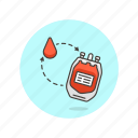 blood, donate, health, hospital, supply, transfusion, type, unit icon