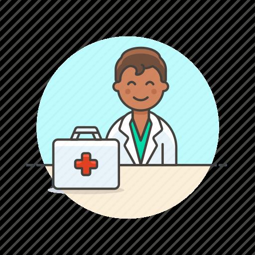 Doctor, health, care, help, hospital, man, medical icon - Download on Iconfinder