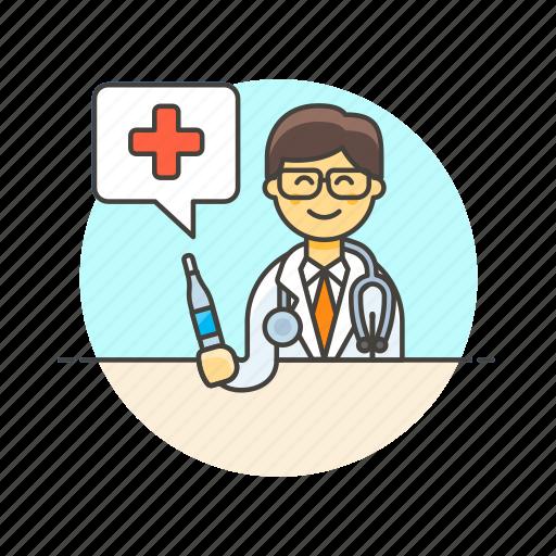 care, doctor, health, help, hospital, man, medical icon