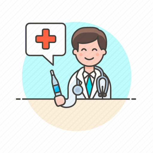 care, doctor, fever, health, help, hospital, medical, thermometer icon