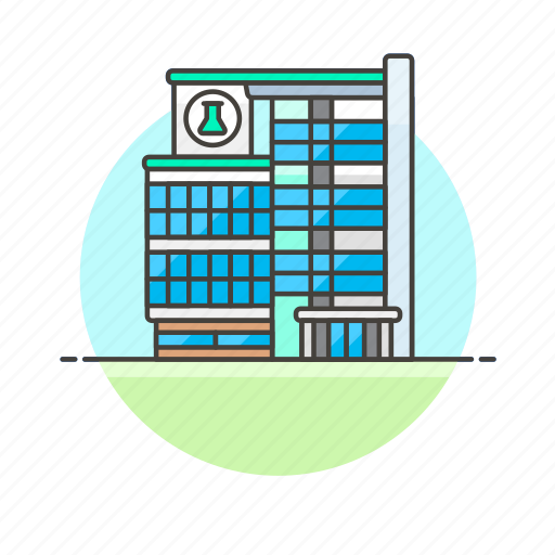 center, health, hospital, laboratory, medical, research, science icon