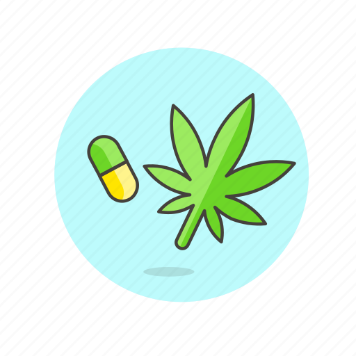 care, drugs, health, herbal, medicine, pill, treatment, weed icon