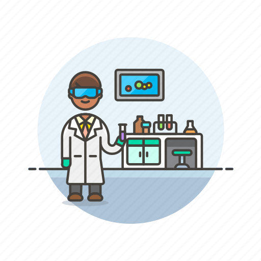 health, hospital, laboratory, medical, research, scientist, study icon
