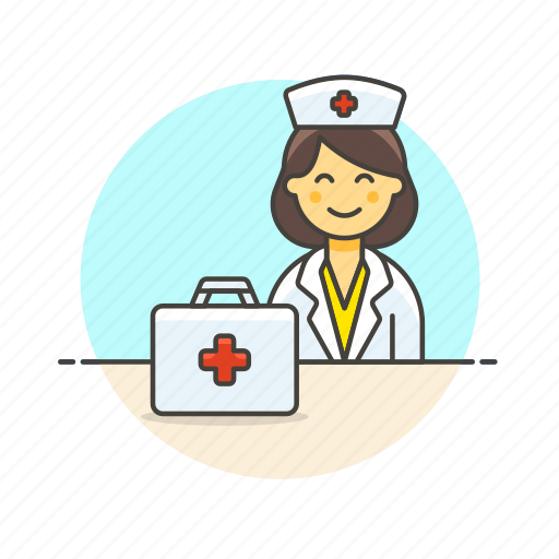 care, health, help, hospital, medical, nurse, woman icon