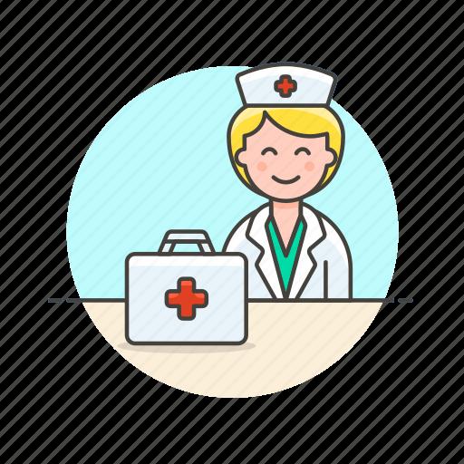 aid, care, first, health, help, hospital, medical, nurse icon
