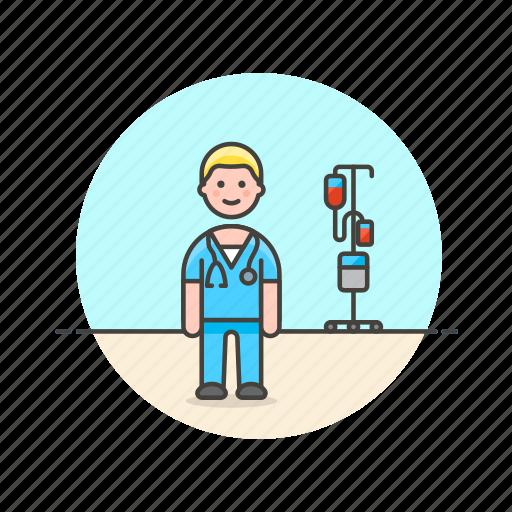 care, health, help, hospital, man, medical, nurse icon