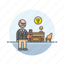 brain, care, freud, health, help, mental, office, psychologist icon