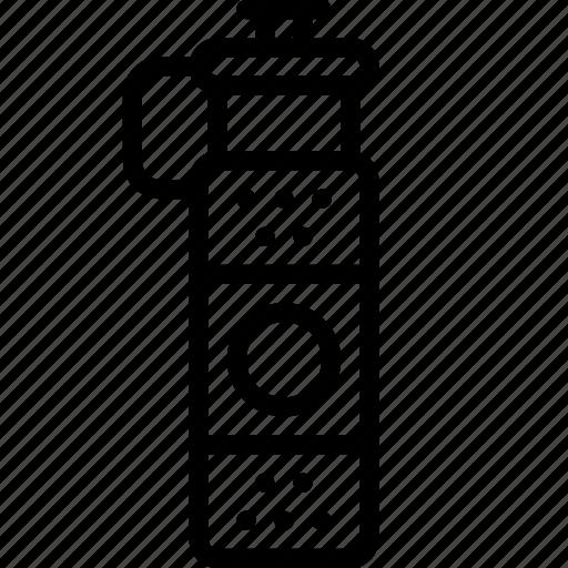 bottle, drink, fitness, flask, health, liquid, sports icon