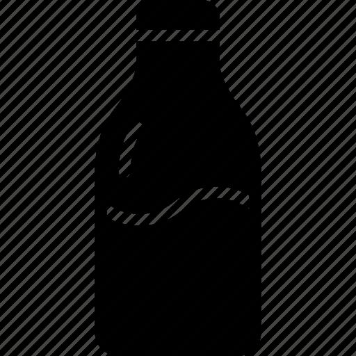 bottle, drink, fitness, health, milk, nutrients icon