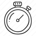 doodle, fitness, hand drawn, health, stopwatch, time icon