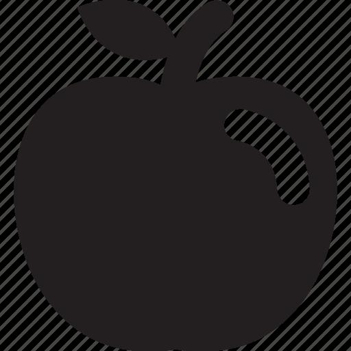 apple, fruit, health icon