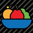 apple, diet, fruit, health, healthy, vegan, vegetables icon