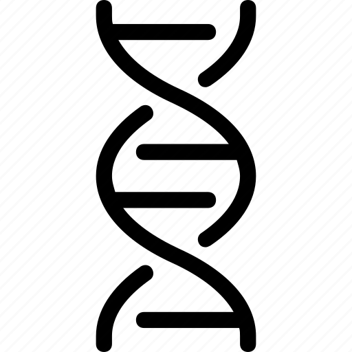 biology, cell, dna, gene, genome, science icon