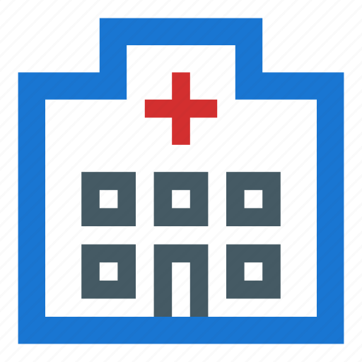building, doctors, emergency, hospital, treatment icon