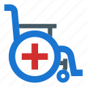 disability, disable, handicap, healthcare, wheelchair icon