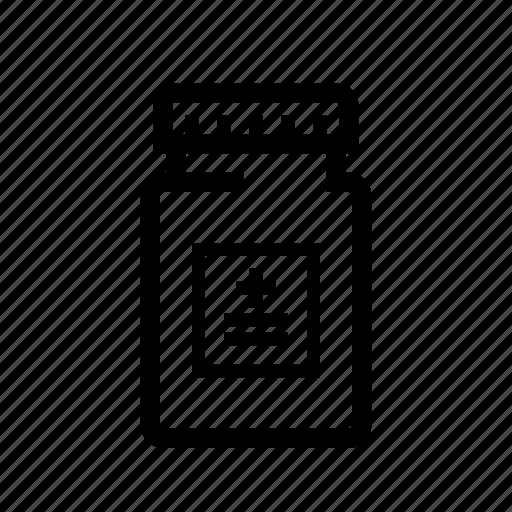 drugs, medication, medicine, medicine bottle, pill bottle, pill container, prescription icon