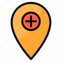 care, check, health, healthcare, medical, point icon