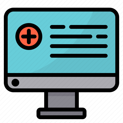 care, health, healthcare, medical, online, report icon