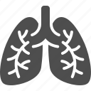 lung cancer, lungs, pneumonia icon