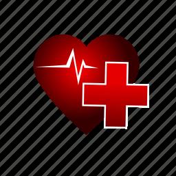 beat, health, healthcare, heart, heartbeat, life, medical icon