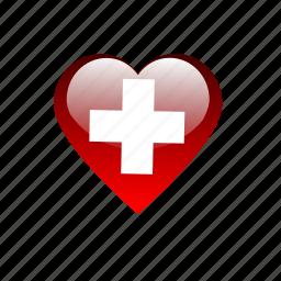 healthcare, heart, hospital, medical icon