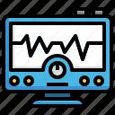 electrocardiogram, healthcare, medical, heart, rate, cardiogram