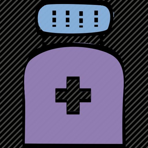 health, medicine, pills, treatment icon