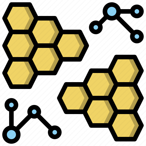 atom, biology, chemical, molecular, molecule, science, structure icon