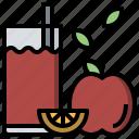diet, food, healthy, juice, vegan, vegetarian icon