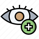 care, eye, health, healthcare, medical, ophthalmology, sight icon