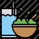 diet, healthy, organic, salad, vegan, vegetable, vegetarian icon