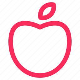 apple, fruit, health, healthcare, medical icon