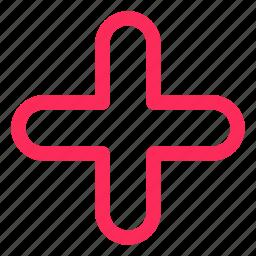 cross, health, healthcare, medical, plus icon