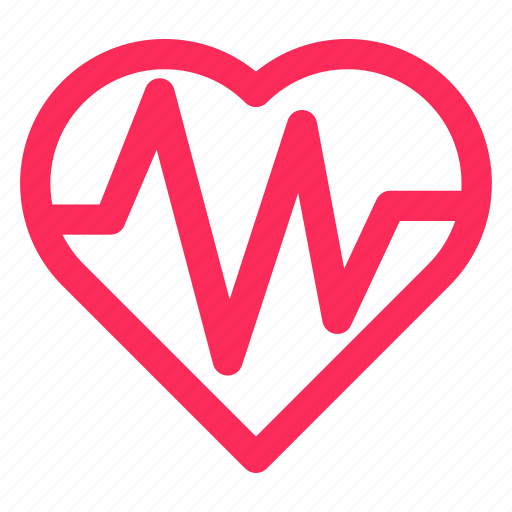 health, healthcare, heart, medical, pulses icon