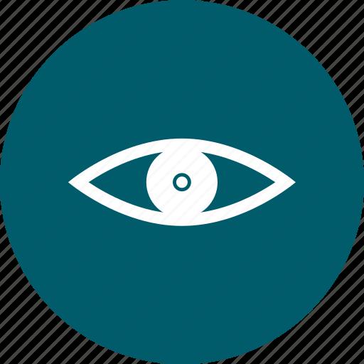eye, red eye icon