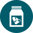 medical, medicine, pill icon