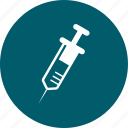 injection, medical, syringe, vaccine icon