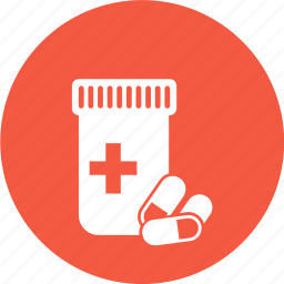 medical, medicine, pill icon